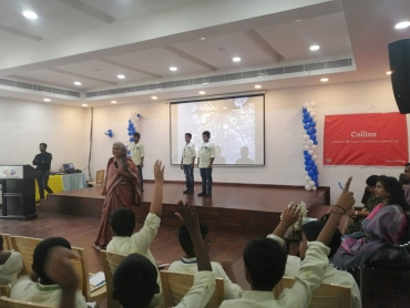 Astronomy workshops with the Nehru Planetarium